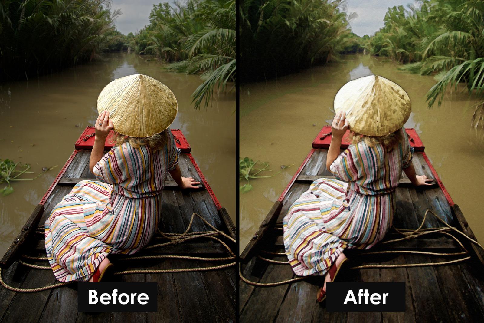 Watercolour Photoshop Action