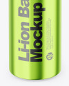 Metallic Battery Mockup