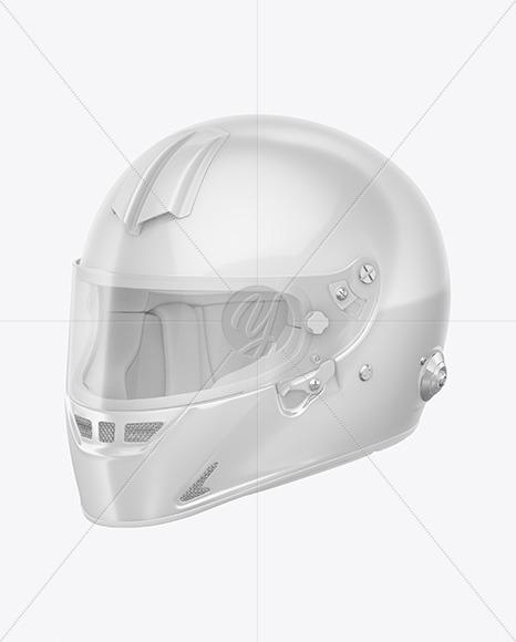Download F1 Helmet Mockup Top View Yellow Images