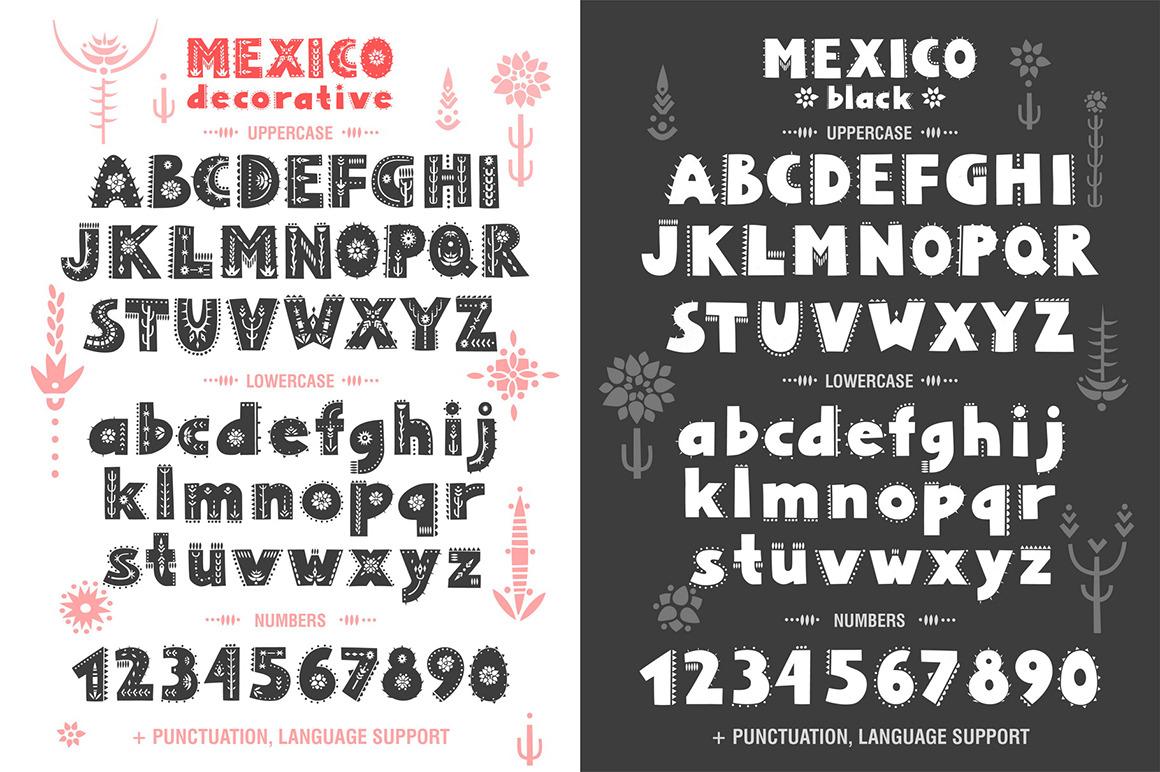 Mexico - Font Family