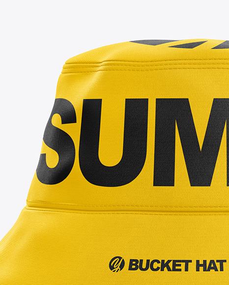 Bucket Hat Mockup - Front View