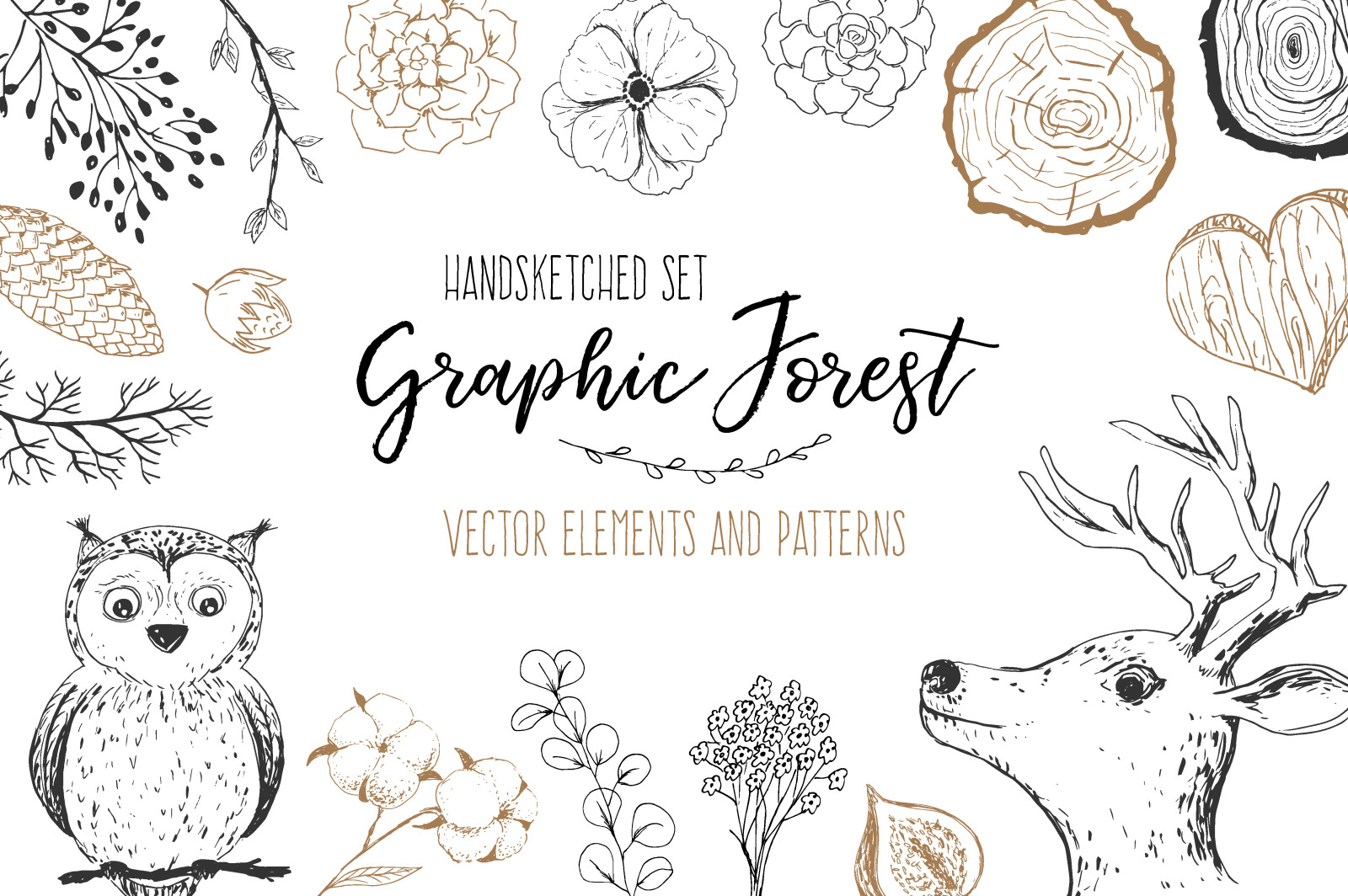 Vector Graphic Forest Collection