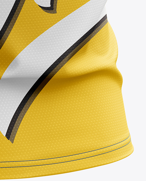 Men's Sprinting Singlet mockup (Back Half Side View)