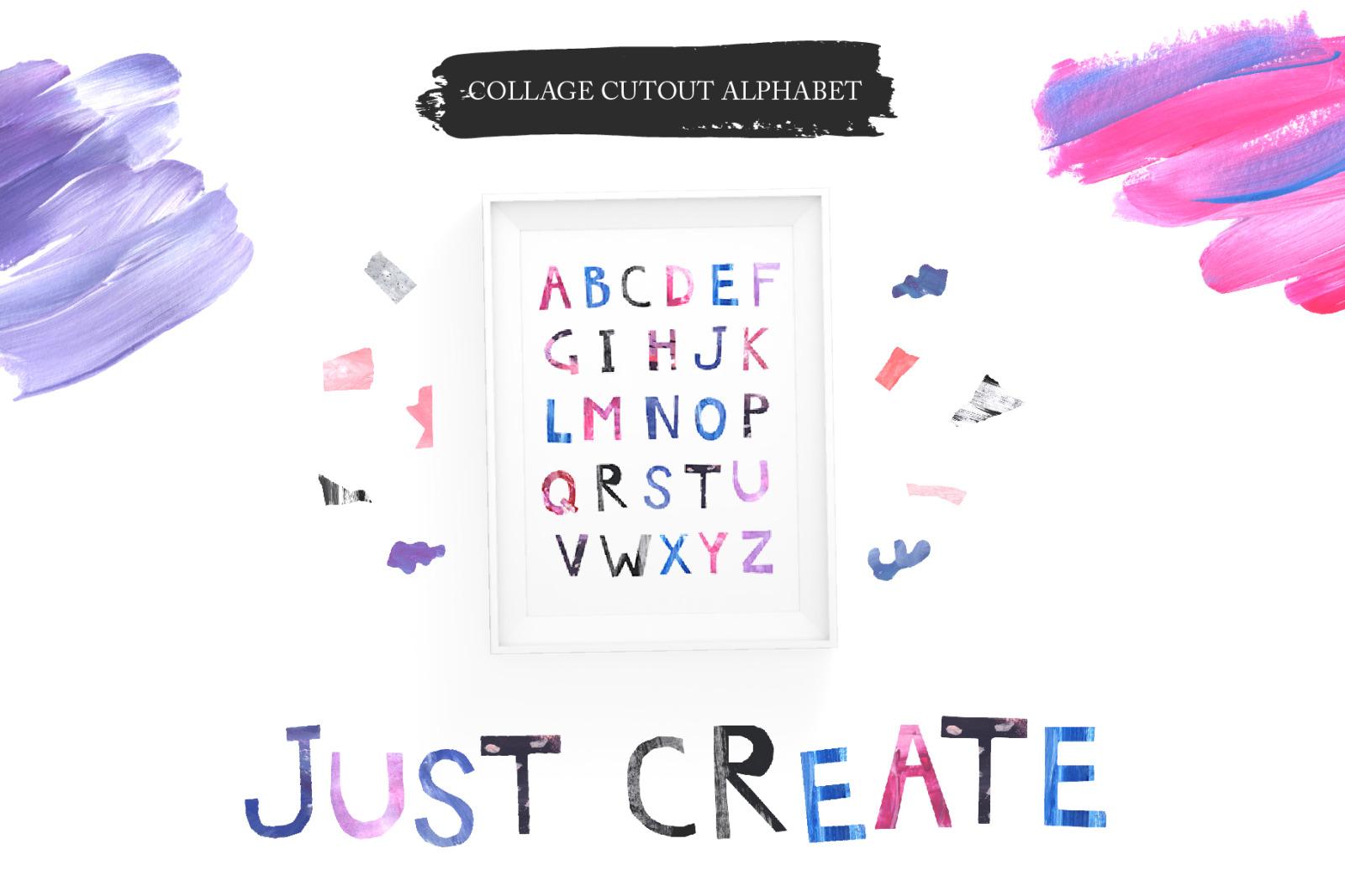 Modern Collage Cutout Set