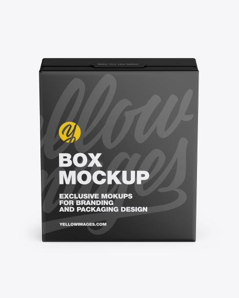 Matte Box Mockup