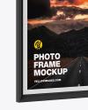 Photo Frame Mockup-Side View