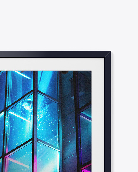 Texture Photo Frame Mockup