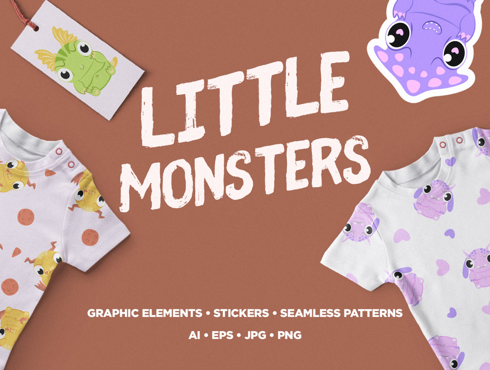 Pack Of Little Monsters
