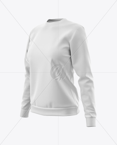 Woman's Tracksuit Mockup - Half Side View