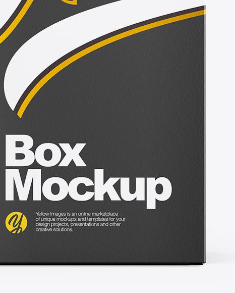 Glossy Dropper Bottle W/ Paper Box Mockup