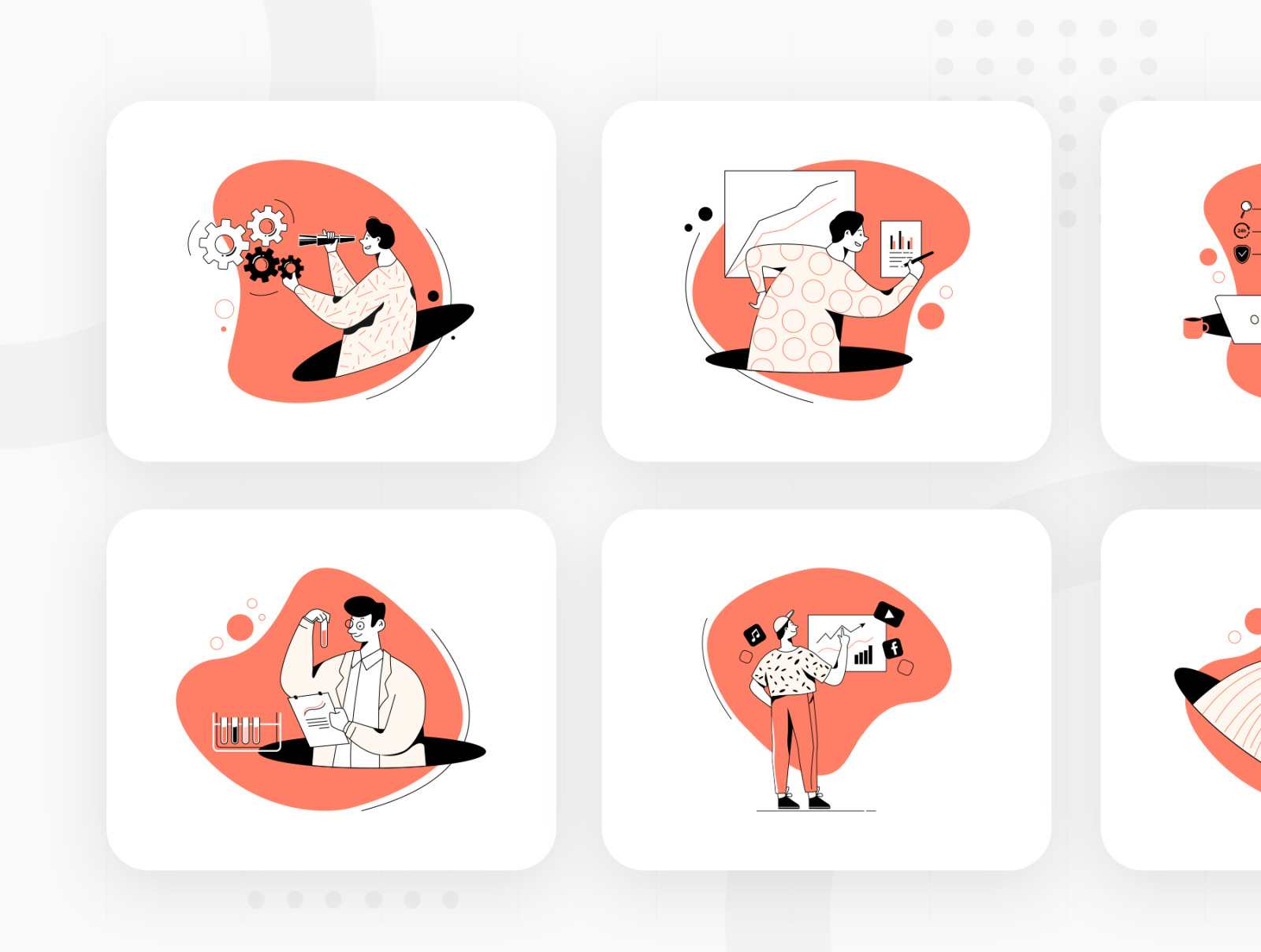 Information Technology Illustration Pack