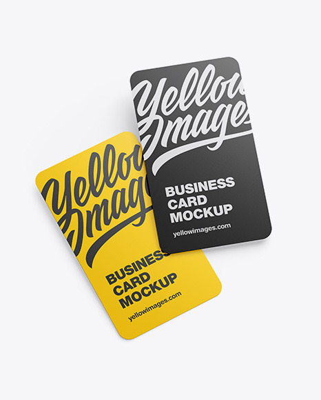 Two Business Card Mockup