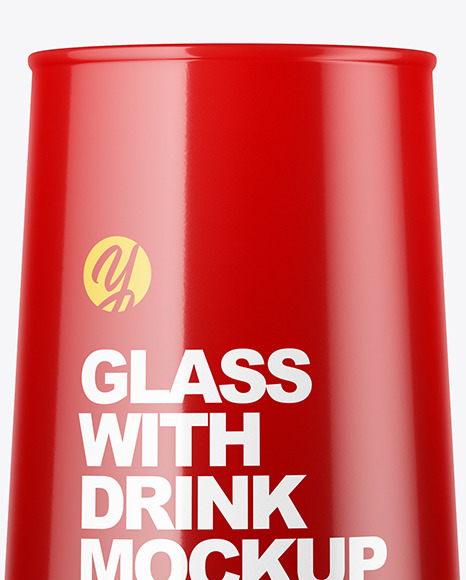 Glossy Glass Mockup