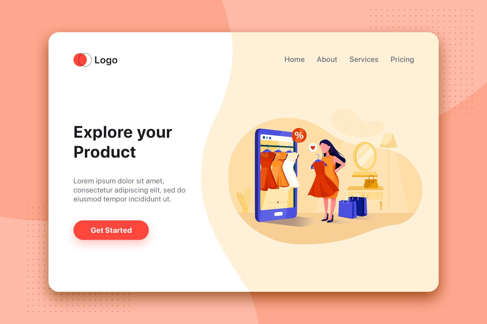 [Part 15] Website Illustrations Set