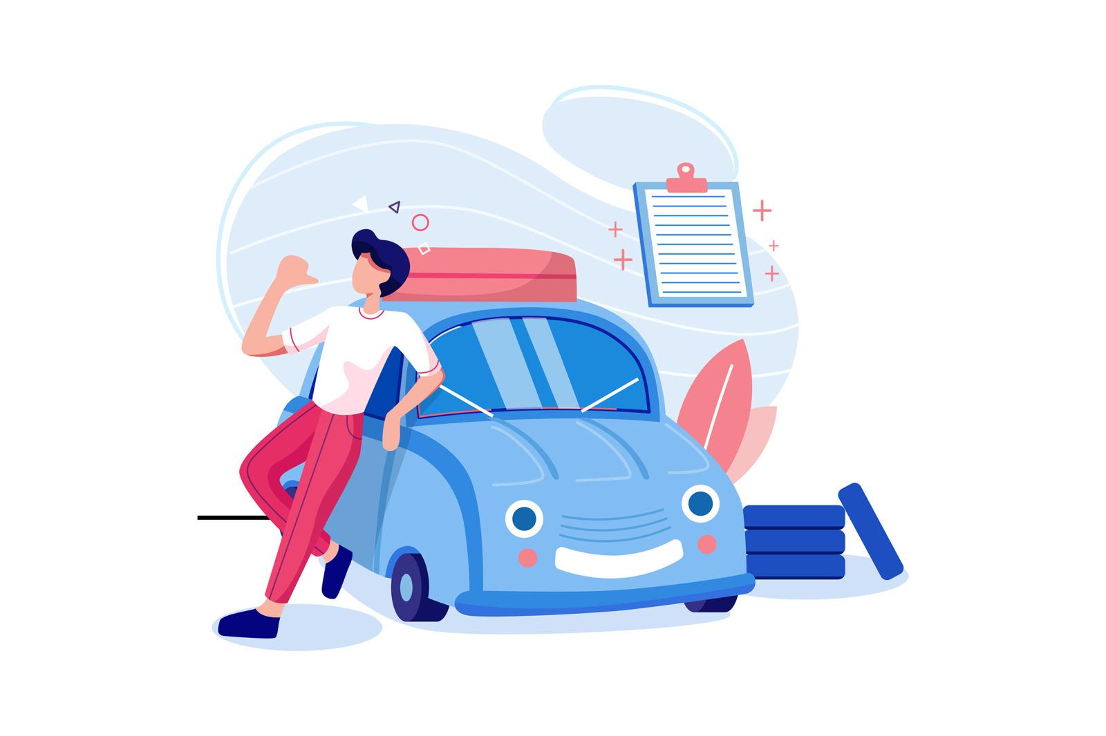 Insurance Services Illustration