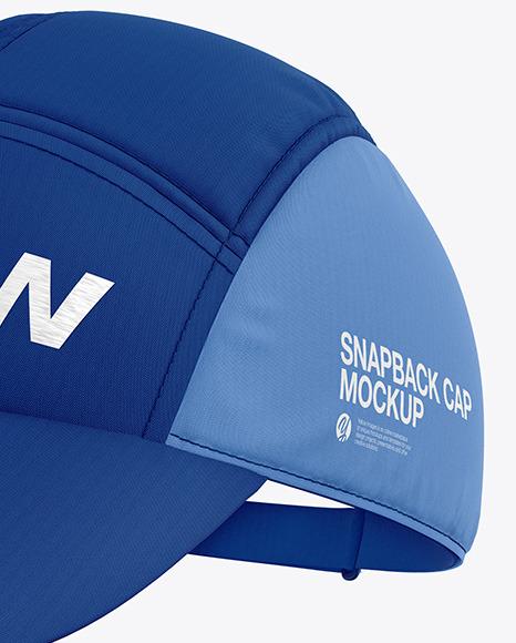Download Snapback Cap Mockup Free Yellowimages