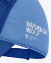 Snapback Cap Mockup