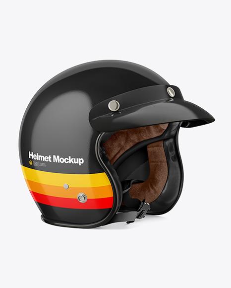 Motorcycle Helmet Mockup