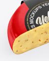 Paprika Cheese Mockup