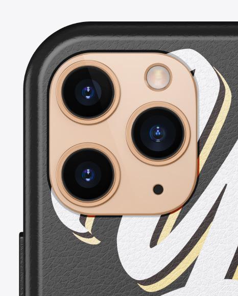 IPhone 11 Pro Leather Case Mockup