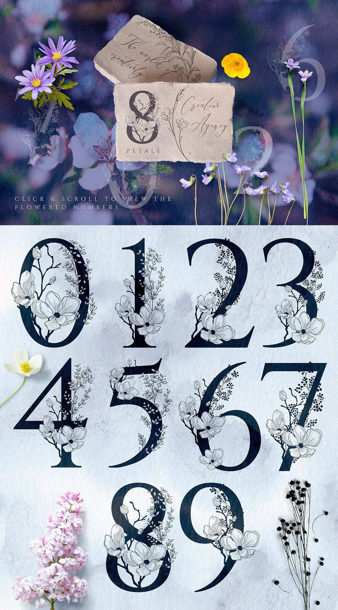 Floral Logo, Floral Letters, Floral SVG, Floral Monogram, Floral Vector, Logo, png, eps, svg.