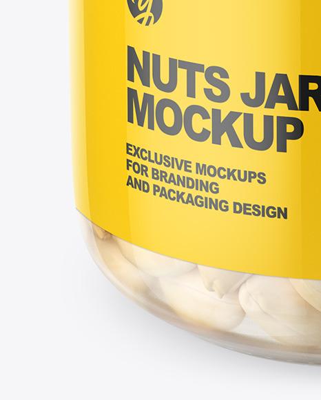 Peanut Jar Mockup