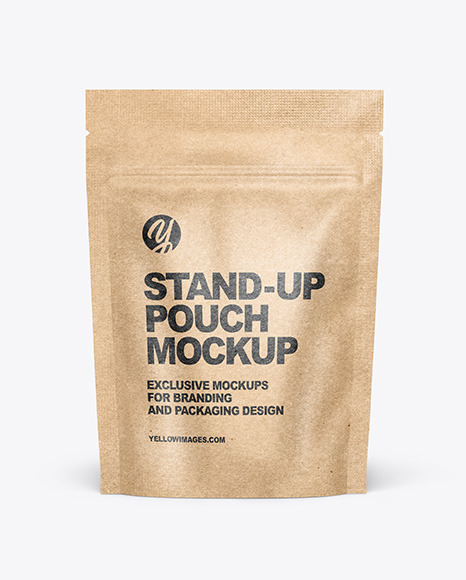 Download Metallic Stand Up Pouch With Candies Mockup Front View PSD - Free PSD Mockup Templates