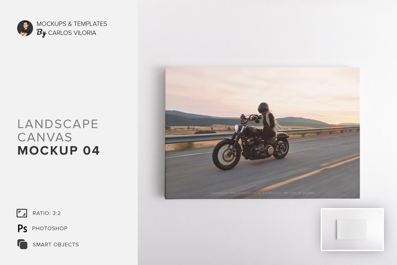 Download Landscape Book Mockup Psd Free PSD - Free PSD Mockup Templates