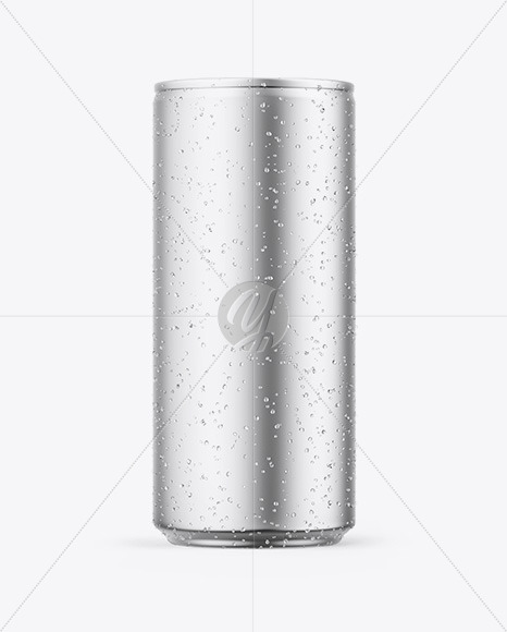 Download Can Mockup With Water Drops PSD - Free PSD Mockup Templates