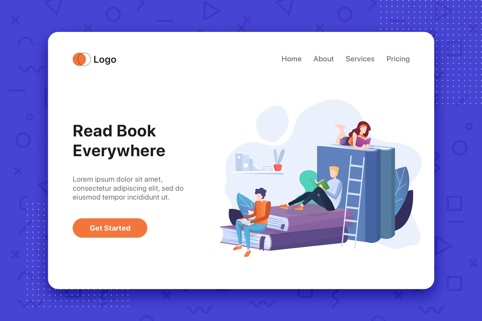 [Part 7] Website Illustrations Set