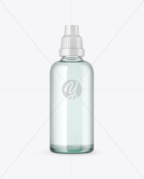 Download 120ml Amber Glass Dropper Bottle Mockup PSD - Free PSD Mockup Templates
