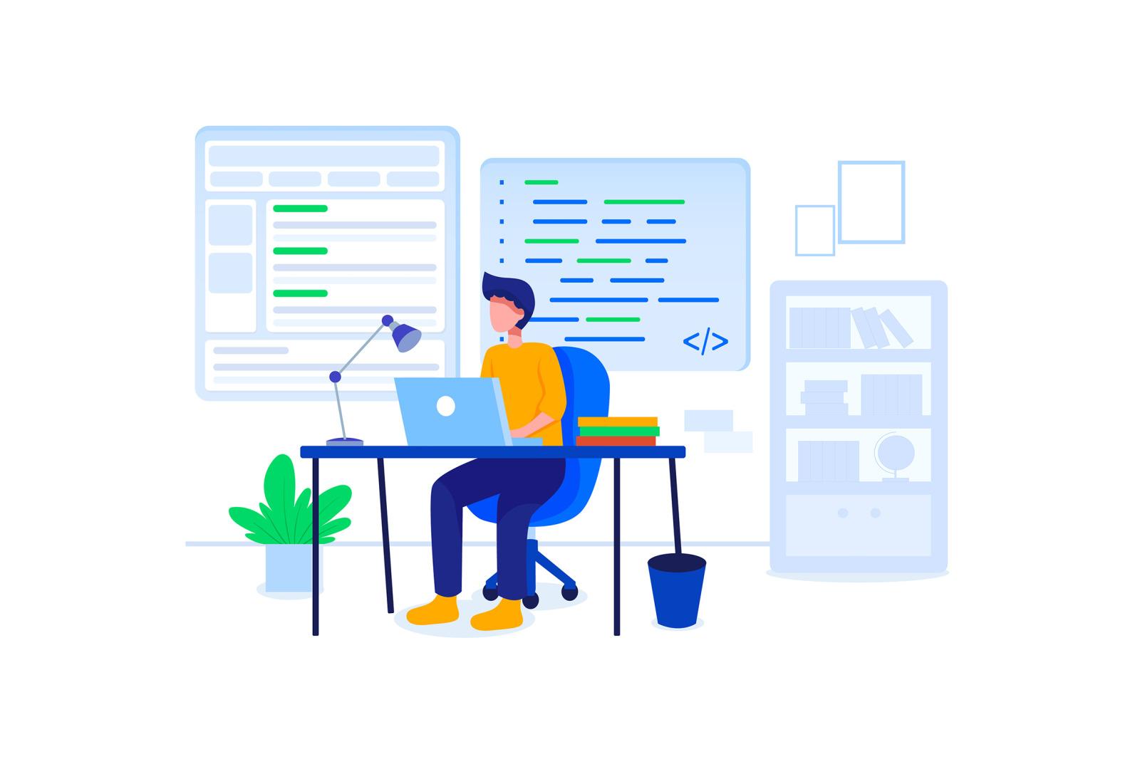 [Part 18] Website Illustrations Set