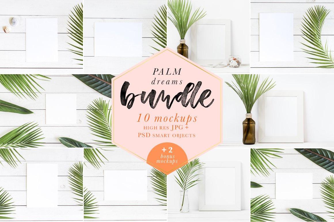 Palm Dreams Bundle Mockups