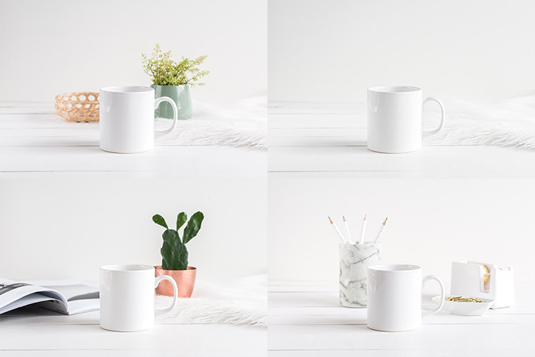 The Coffee Mug Bundle - 12 Mockups