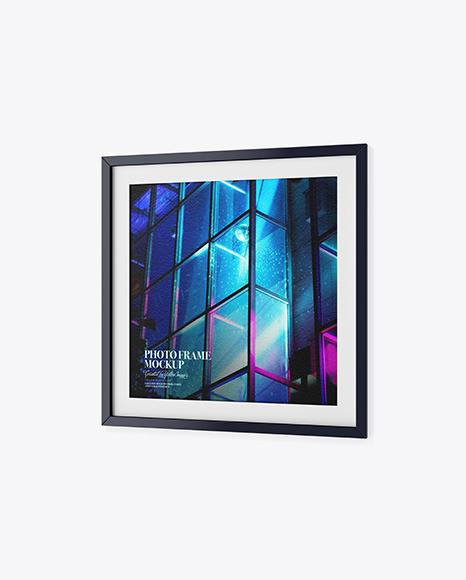 Textured Photo Frame Mockup