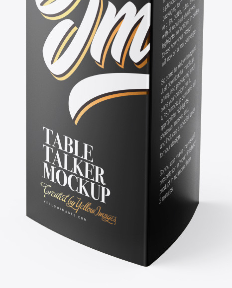 Table Talker Mockup