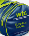 Leather Duffle Bag Mockup