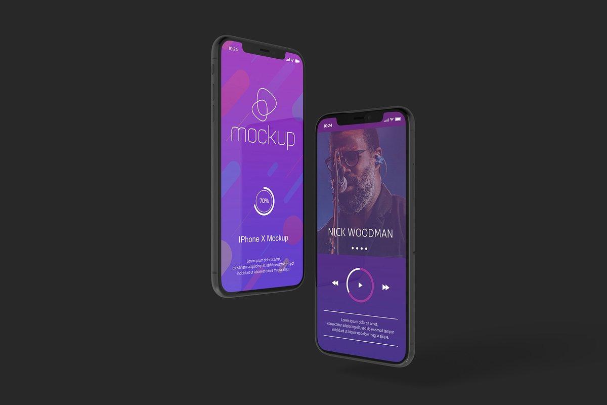iPhone X Mockup Set