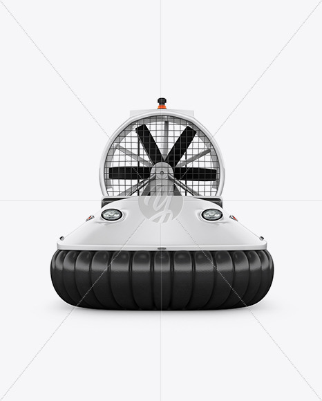 Hovercraft Mockup - Front View - Yellowimages Mockups