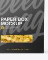 Cellentani Pasta Box Mockup