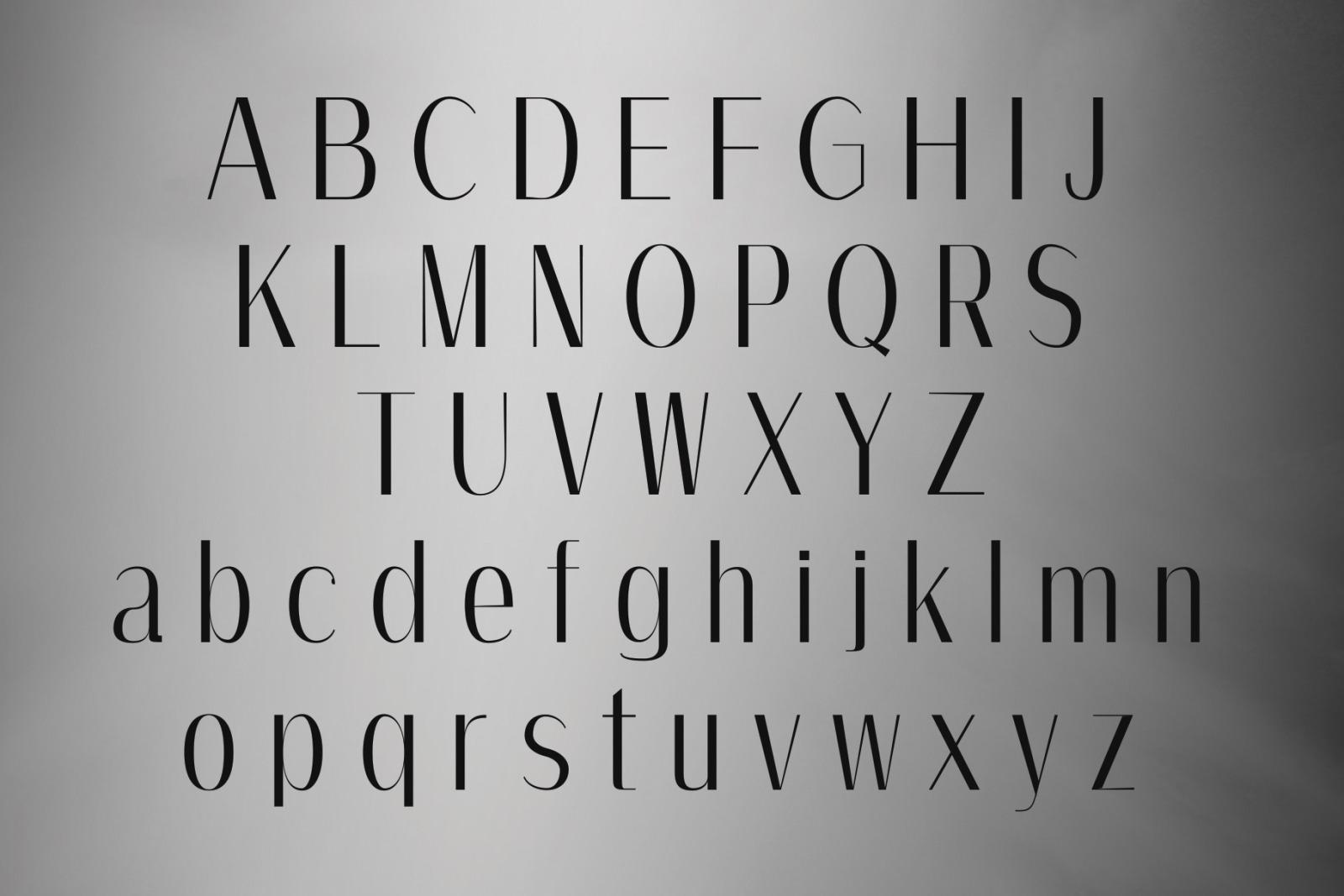 AMOS: A Modern Sans Serif