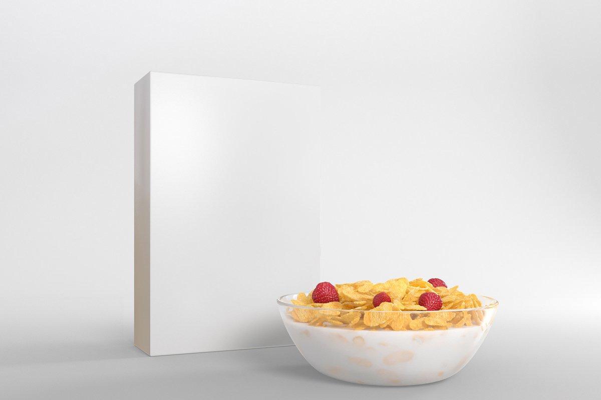 Cereal Package Mockup