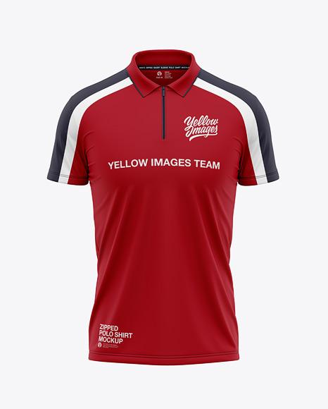 Download Mens Long Sleeve Polo Shirt Mockup Yellowimages