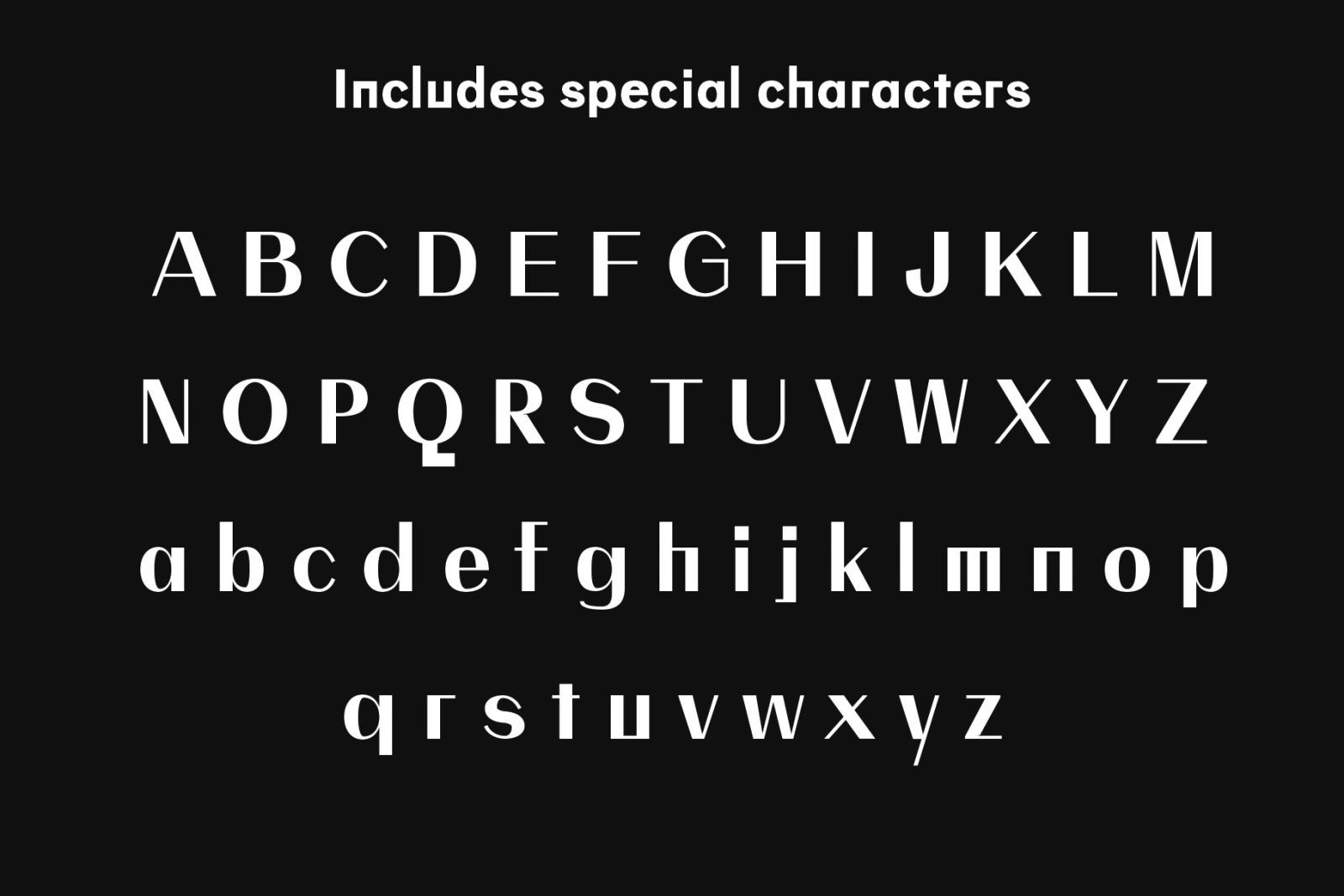 QUAMIR: A Display Font Duo