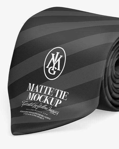 Tie Mockup