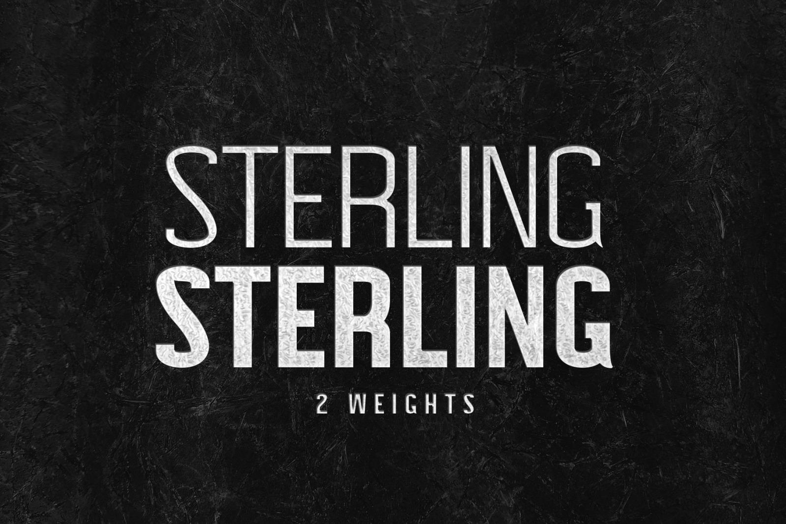 STERLING: A Powerful Sans Serif