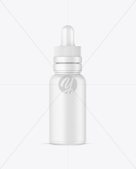 Matte Glass Dropper Bottle