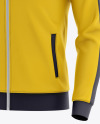 Men's Long Sleeve Track Jacket Mockup