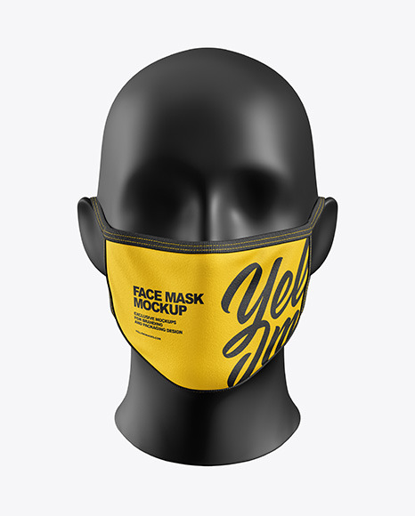 Download Buff Mask Mockup Yellowimages