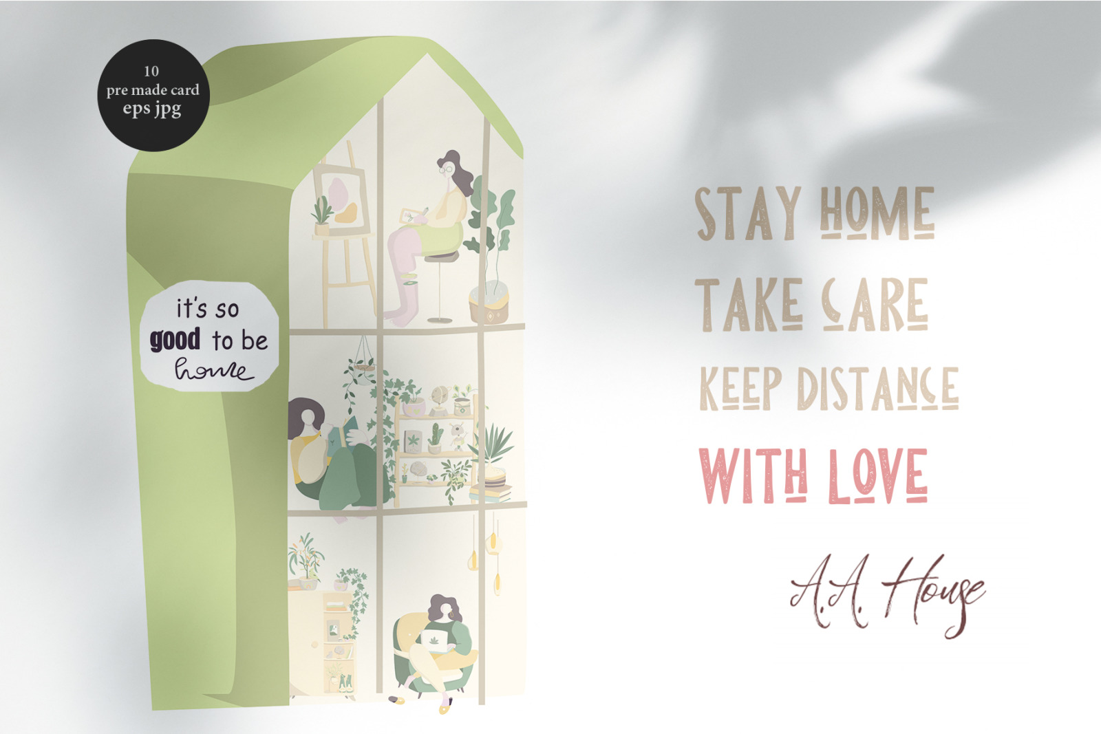 Stay at Home Keep Distance